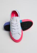 Converse - Chuck taylor all star rainbow ice ox - white