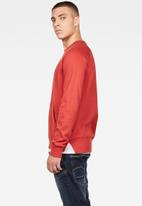 G-Star RAW - 2 Tone sweater - antic red