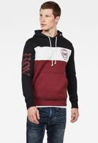 G-Star RAW - Graphic 15 long sleeve hoodie - multi
