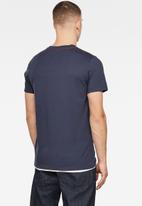 G-Star RAW - Boxed raw graphic short sleeve tee - blue