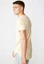Factorie - Curved T-shirt - fog