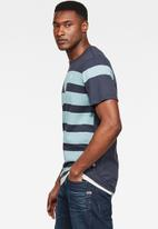 G-Star RAW - One stripes graphic short sleeve tee - blue
