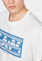G-Star RAW - Boxed raw gr short sleeve tee - white