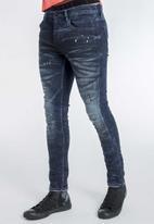 S.P.C.C. - Workshop premium feather jeans - indigo