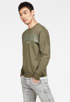 G-Star RAW - G-star graphic long sleeve tee - wild rovic