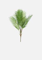 Silk By Design - Areca palm plant - green