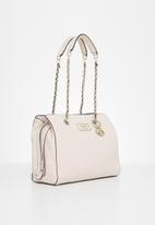 GUESS - Logo love girlfriend satchel - pink