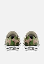Converse - Chuck Taylor All Star camo - black/candied ginger/white