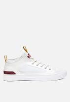 Converse - Chuck Taylor All Star ultra leather and mesh - white & team red