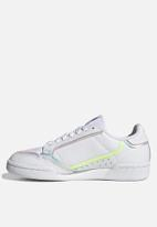 adidas Originals - Continental 80 - ftwr white, bliss purple & hi-res yellow