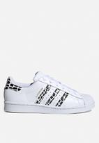 adidas Originals - Superstar w - ftwr white, gold met & core black