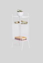 Sixth Floor - Macy mesh side table - white