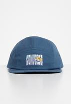 Converse - Bubble graphic camp cap - court blue