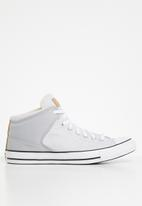 Converse - Ctas high street twisted summer mid m 167514c - wolf grey/white