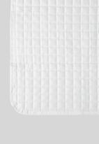 Sixth Floor - Cotton quilt - white