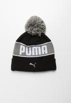 PUMA - Puma pom beanie - black ultra grey