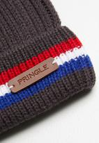 Pringle of Scotland - Farrel beanie - charcoal