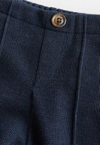 MANGO - Trousers Miguel - navy