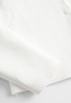 MANGO - Cardigan Demi  - white