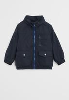 MANGO - Jacket lion - navy