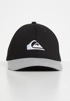 Quiksilver - Pinpoint stretch cap - black & grey