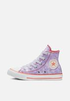 Converse - Chuck taylor all star tie-dye hi - lilac