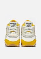 Reebok Classic - Cl nylon toa - yellow & white