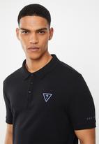 GUESS - Short sleeve fashion polo - black