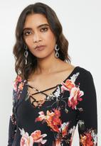 GUESS - Long sleeve Kayleen top - black