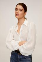 MANGO - Shirt adriana - cream