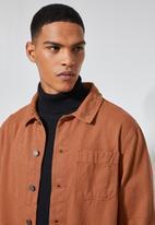 Superbalist - Shoreditch worker jacket - rust
