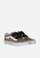 Vans - Uy old skool - leopard & black