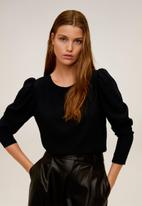 MANGO - Mari blouse - black