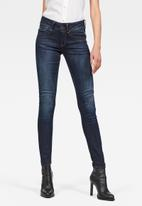 G-Star RAW - Lynn mid skinny - faded blue
