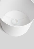 Sixth Floor - Basic barrel lamp shade - white
