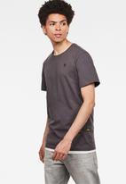 G-Star RAW - Base-s r short sleeve tee - grey