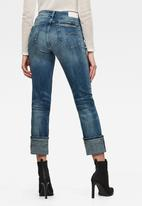 G-Star RAW - 4311 Noxer high straight jeans - faded azurite