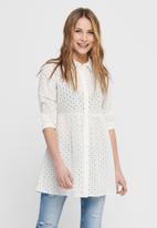 Jacqueline de Yong - Shorna life dress - white