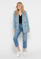 Jacqueline de Yong - Marianna long sleeve blazer - blue