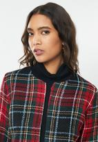 ONLY - Pia jacket - red & black
