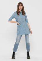 Jacqueline de Yong - Shorna life dress - blue