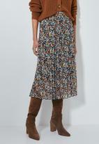 Superbalist - Sunray pleated midi skirt - multi