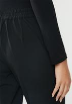 ONLY - Focus regular pants - black