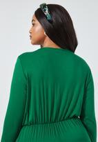 Superbalist - Twist front knot maxi - green