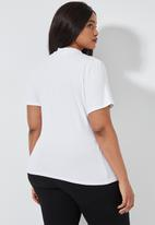 Superbalist - 2 Pack fitted tees - black & white