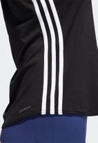 adidas Performance - 3s Scoop tank - black & white