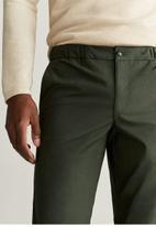 MANGO - Roma trousers - green