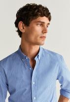 MANGO - Vichy shirt - blue