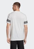 adidas Originals - Outline short sleeve tee - white