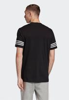 adidas - Outline tee - black